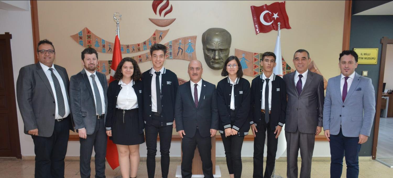 Blog | Birey | İl Milli Eğitim Müdürü Hakan Cırıt'ı Ziyaret Ettik.